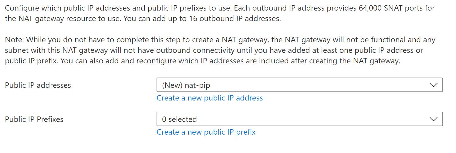 NAT Gateway - Outbound IP